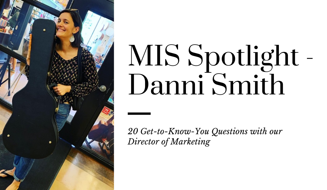 20 Questions with Danni Smith
