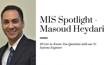 20 Questions with Masoud Heydari