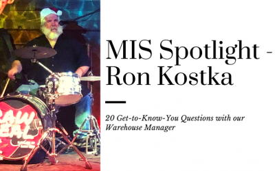 20 Questions with Ron Kostka