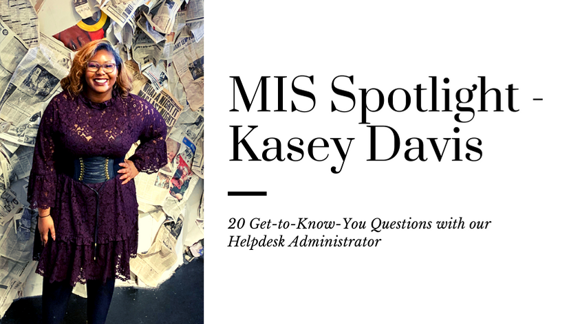 20 Questions with Kasey Davis